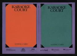 Jury voting cards