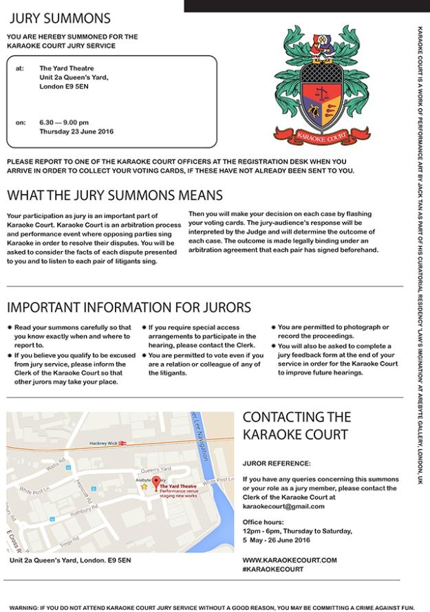 Jury Summon